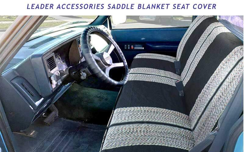 Saddle Blanket truck seat cover review