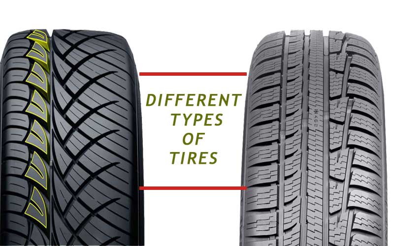 different tires category