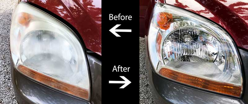 home headlight restoration kiT review