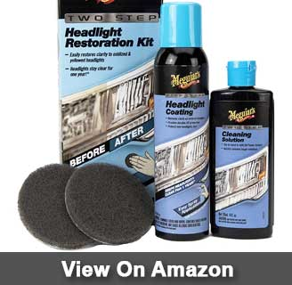 Meguiar's Two Step Headlight Restoration Kit review
