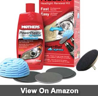Mothers 07251 NuLens headlight restoration kit