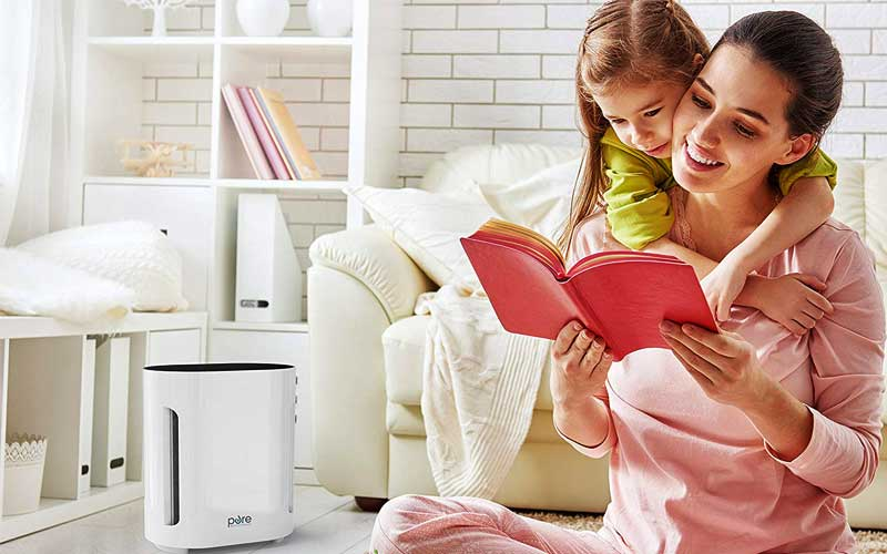 PureZone 3-in-1 True HEPA Air Purifier review