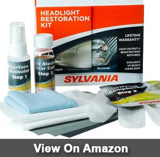 SYLVANIA Headlight Restoration Kit review