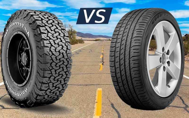 All terrain vs all season tire