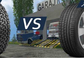 all terrain vs all season tires