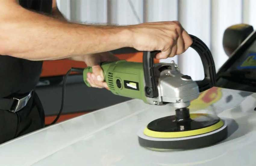"ARKSEN 7"" Variable 6 Speed Electric Car Polisher review"