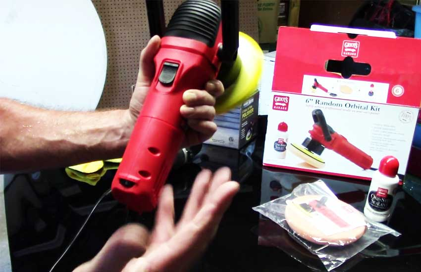 Griot's Garage 10813STDCRD sander review