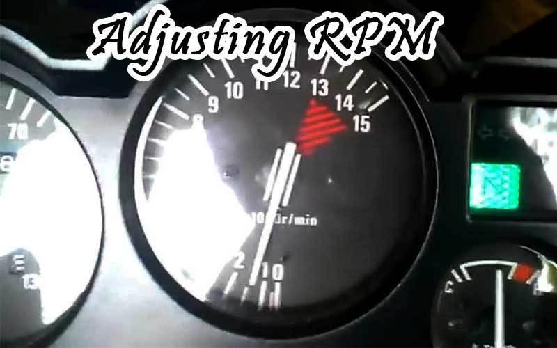adjusting RPM