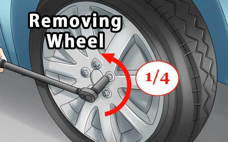 how to remove wheel