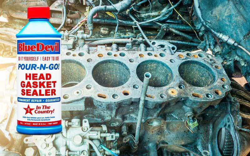 How to use head gasket sealer details