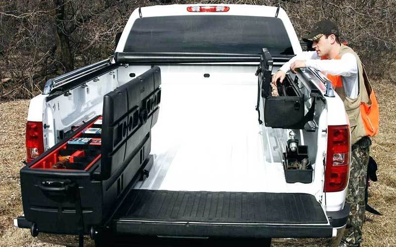 Installing Truck Bed Storage System