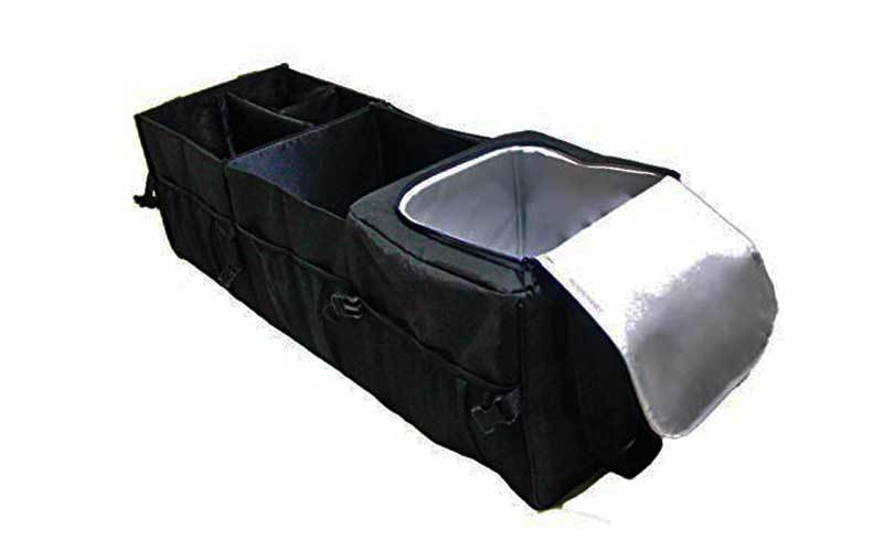 truck bed cargo organizer review
