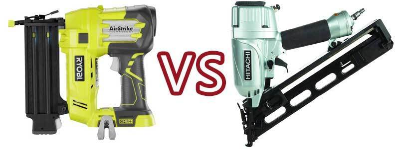 The Difference between Brad and Finish Nailer – Which is The Best?