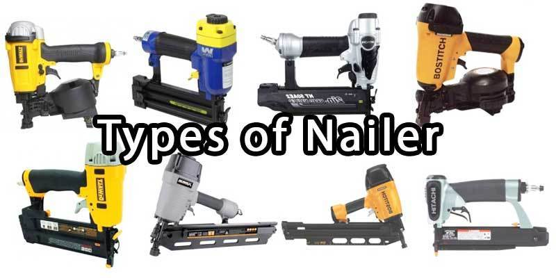 types of nailer