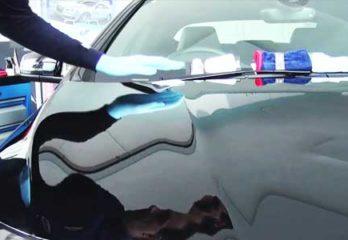Apply Ceramic Car Coat on Glass