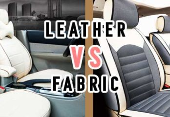 Are leather car seats better than fabric