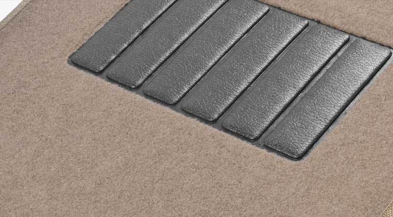 Mat With a Non-slip Rubber Backing
