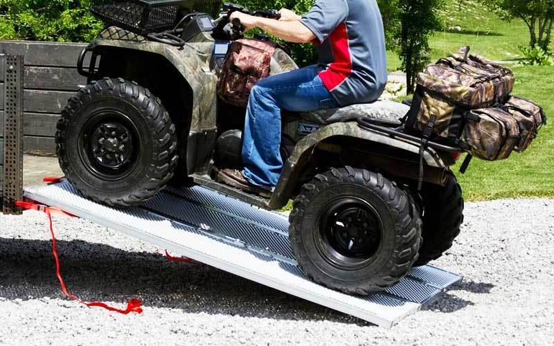 Tri Fold Motorcycle Ramp review