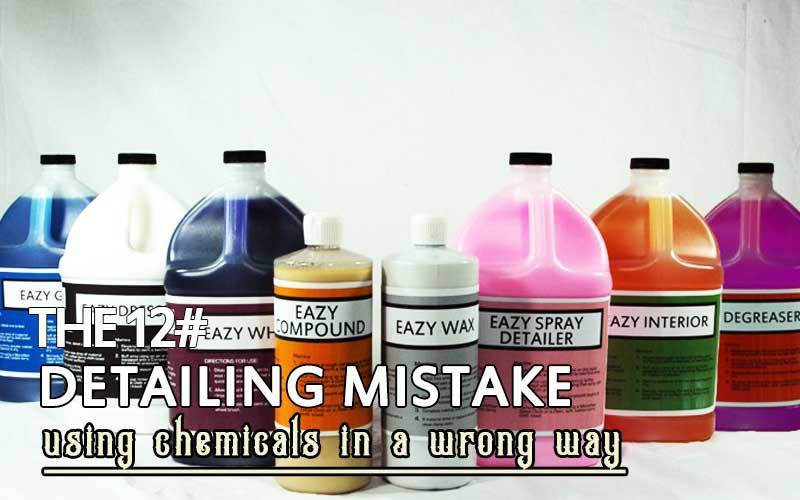 Using Chemicals In A Wrong Way