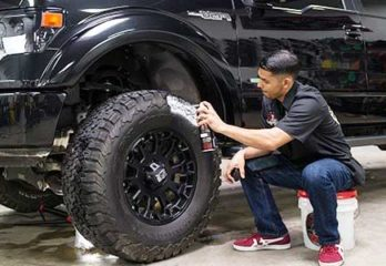 Way to Shine Tires
