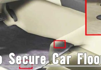 How To Secure Car Floor Mats