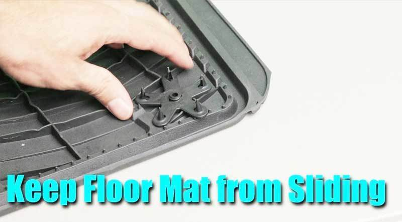 keep floor mats from sliding