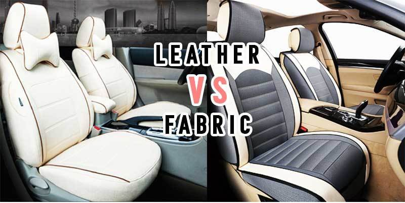 leather vs fabric car seat