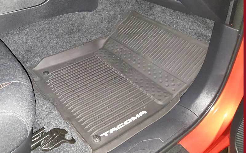 Screw the Floor Mats