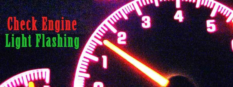 Check Engine Light Flashing and Blinking – What It Means & How Reset