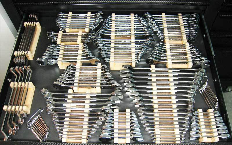 Steps To Organize Wrenches