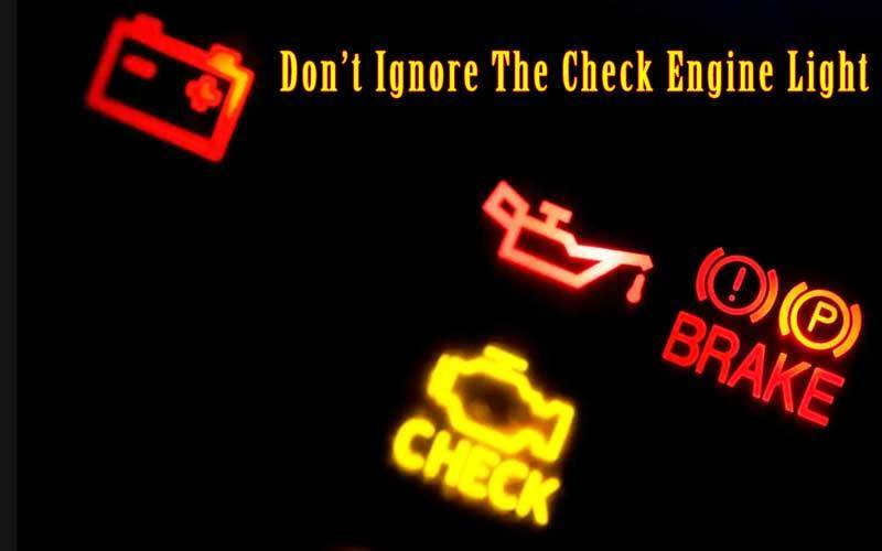 What a Flashing Check Engine Light Means