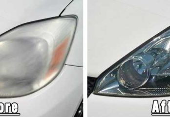 How to Restore the Headlight bulbs