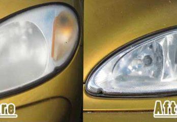 restore car dull headlights