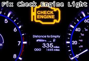 Check Engine Light Gas Cap