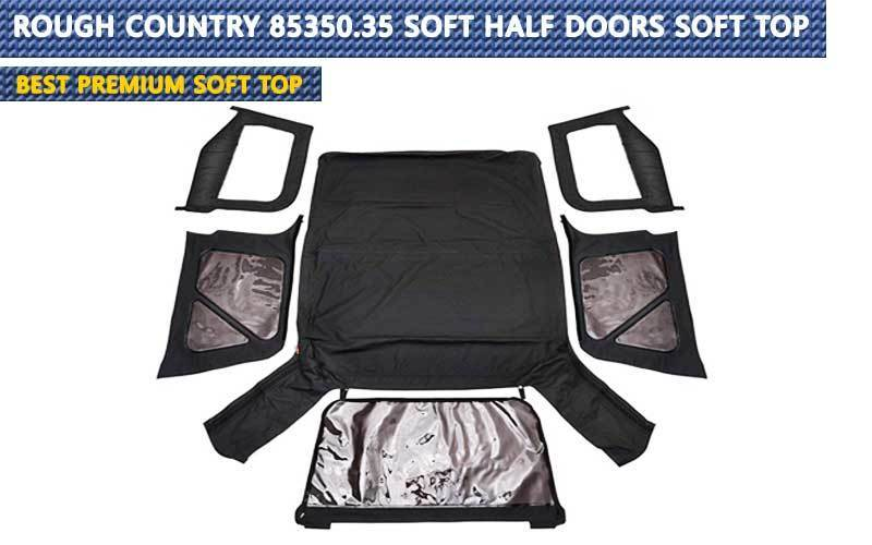 Rough Country 85350.35 Soft Half Doors review