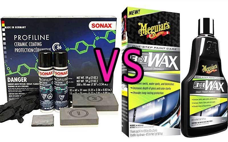 Sonax Vs Meguiars review