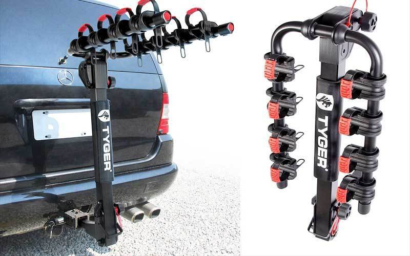 Tyger Auto TG-RK4B102B Deluxe 4-Bike Carrier Rack Review