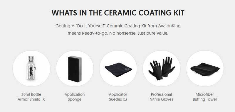 WHATS IN THE CERAMIC COATING KIT