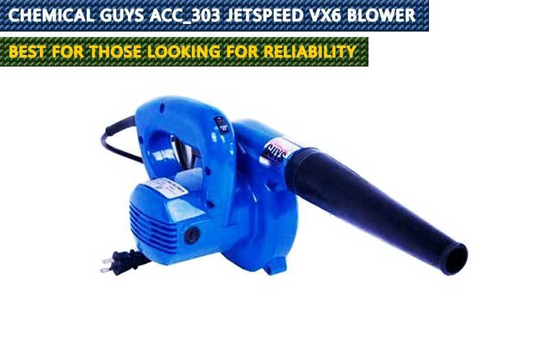 Chemical Guys Acc_303 JetSpeed VX6 Blower  review