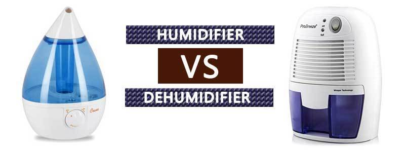 Humidifier vs Dehumidifier :  What you need