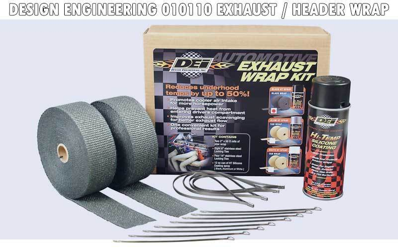 Design Engineering 010110 Exhaust Header Wrap review