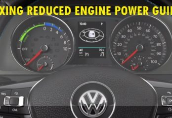 Fixing Reduced Engine Power Guide
