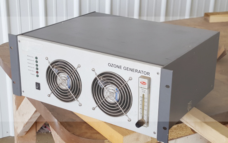 Fixing it with ozone generator