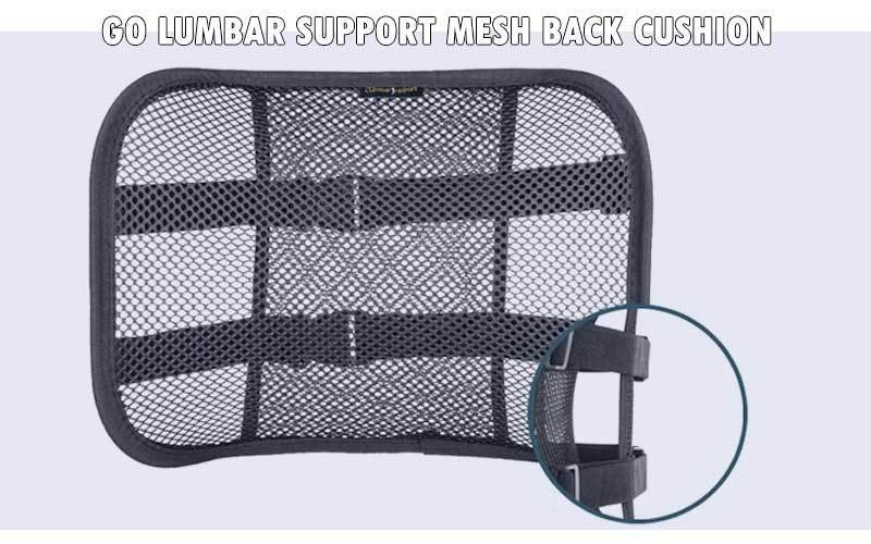 Go Lumbar Support Mesh Back Cushion review