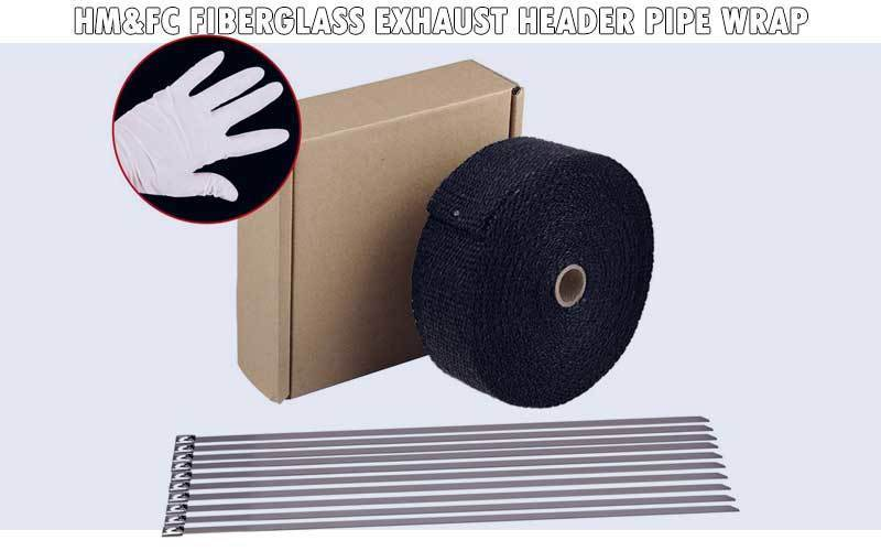 HM&FC Fiberglass Exhaust Header Pipe Wrap review