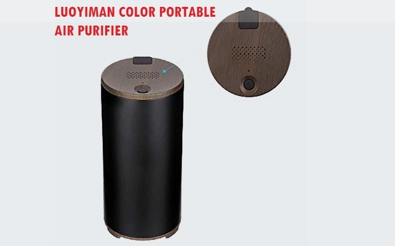 LUOYIMAN Color Purifier Portable Ozone air Cleaner Review