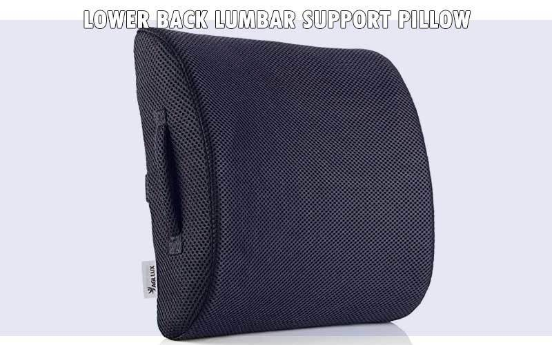 Lower Back Lumbar Support Pillow review