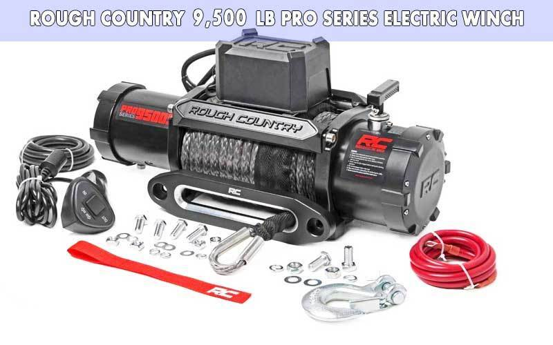 Rough Country 9,500 LB PRO Series Electric Winch review