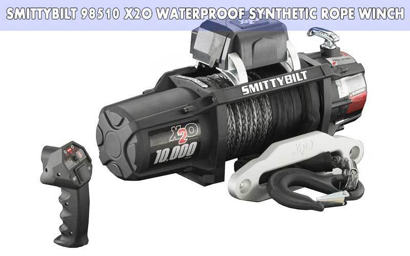 Smittybilt 98510 X 2O Waterproof Synthetic Rope Winch review