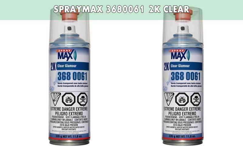 Spraymax 3680061 2K Clear review